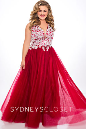 Sydney's Closet SC7291 Prom Dress