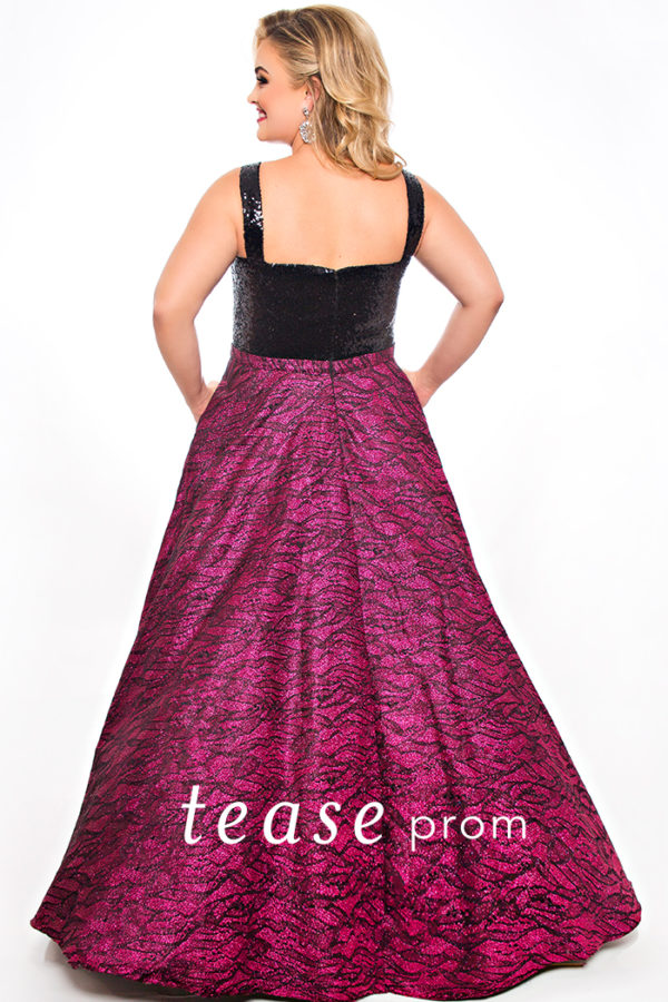 Sydney's Closet TE2041 Prom Dress