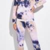 tye dye set 100x100 String Belted Mini Dress