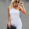 Dress3 100x100 Strapless Solid Ruffle Mini Dress