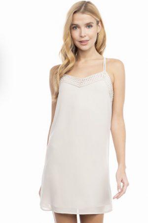 Cluney Lace Slip Dress