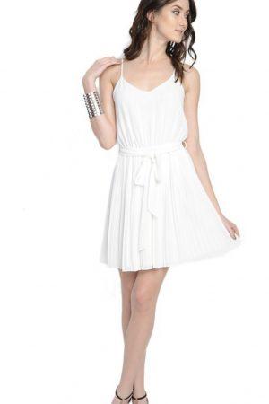 Pleated Skirt Dress
