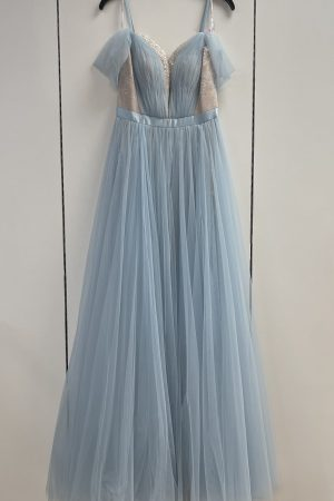 Sherri Hill Prom Gown in Baby Blue Size 6