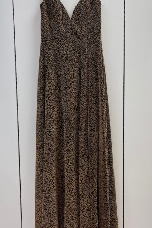 Amelia 024 Prom Gown in Leopard Size 2, 6 & 10