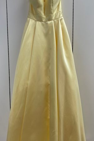 Sherri Hill  52502 Prom Gown in Yellow Size 6 & 8